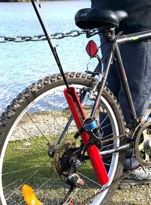 Fishing Rod Holder for Your Bike