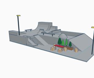 Tinkercad- Skatepark (scene)