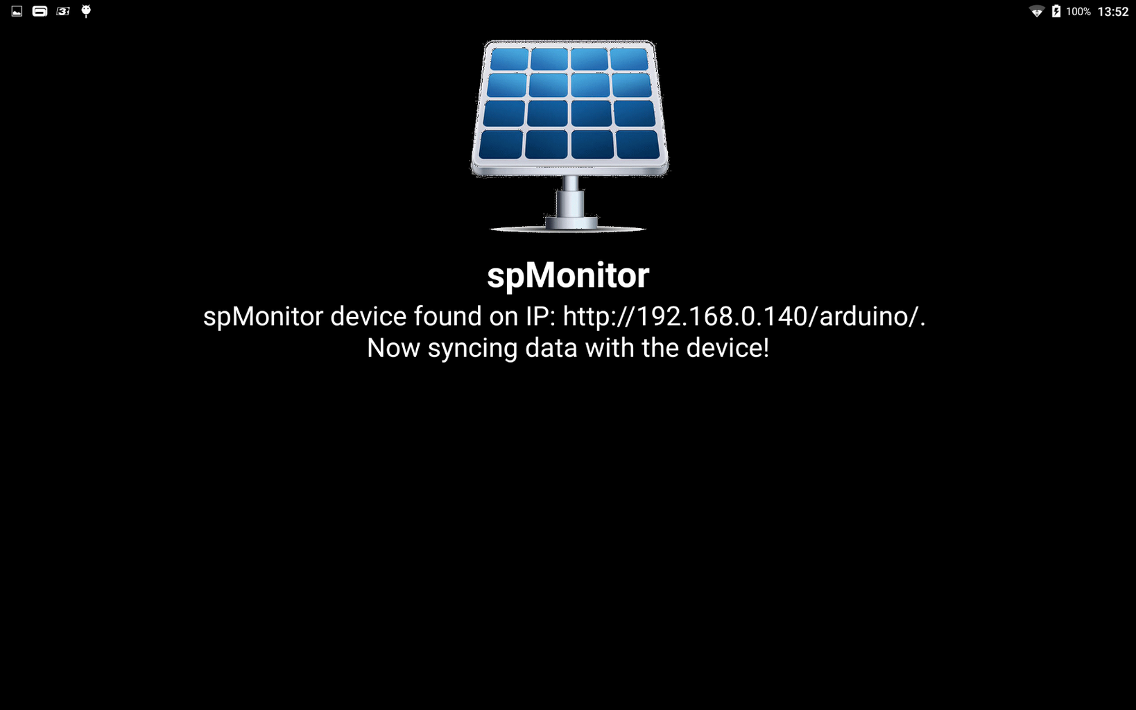 SOLAR PANEL MONITORING – ANDROID APP (1)