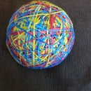 how to make a rubberband ball