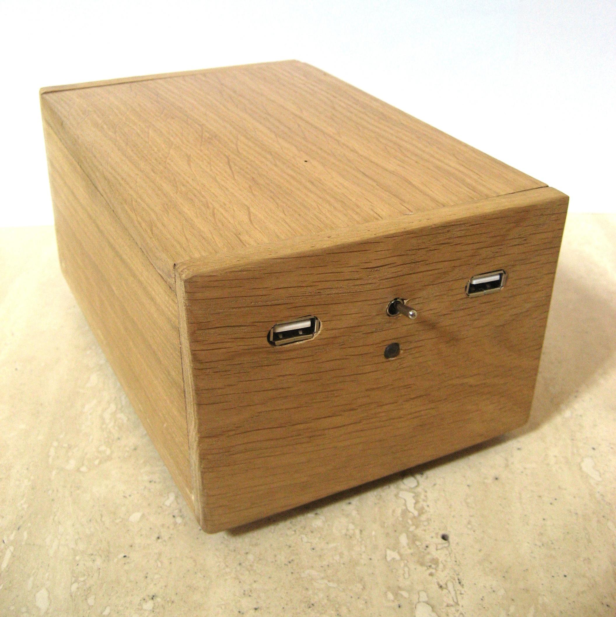 External hard drive + USB hub