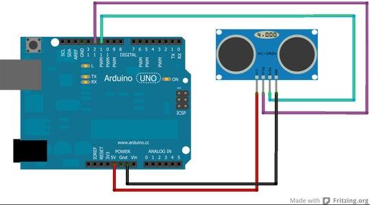 Setting Up Ultra Sonic Sensor..