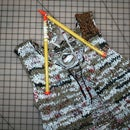 How to create a sweater vest from plastic bags
