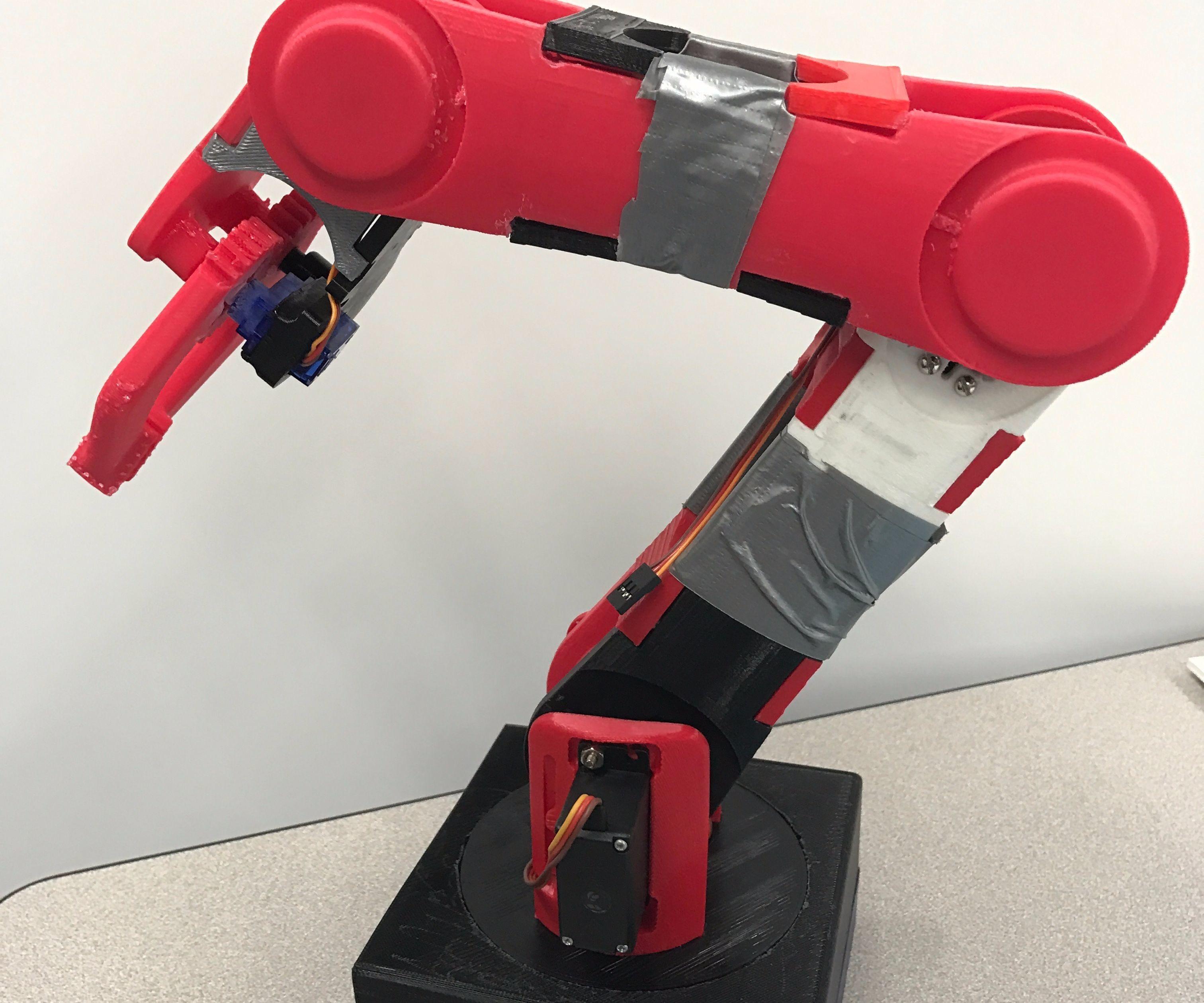 3D-Printed Robot Arm