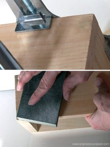 Prepare the Shelf for Staining or Painting
