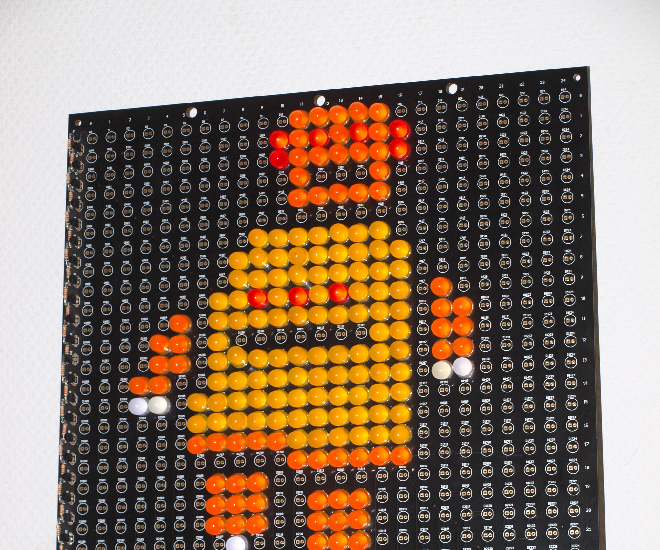 LED Robot Sign