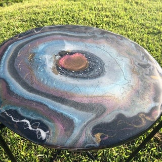 Resin Moon Ring Table