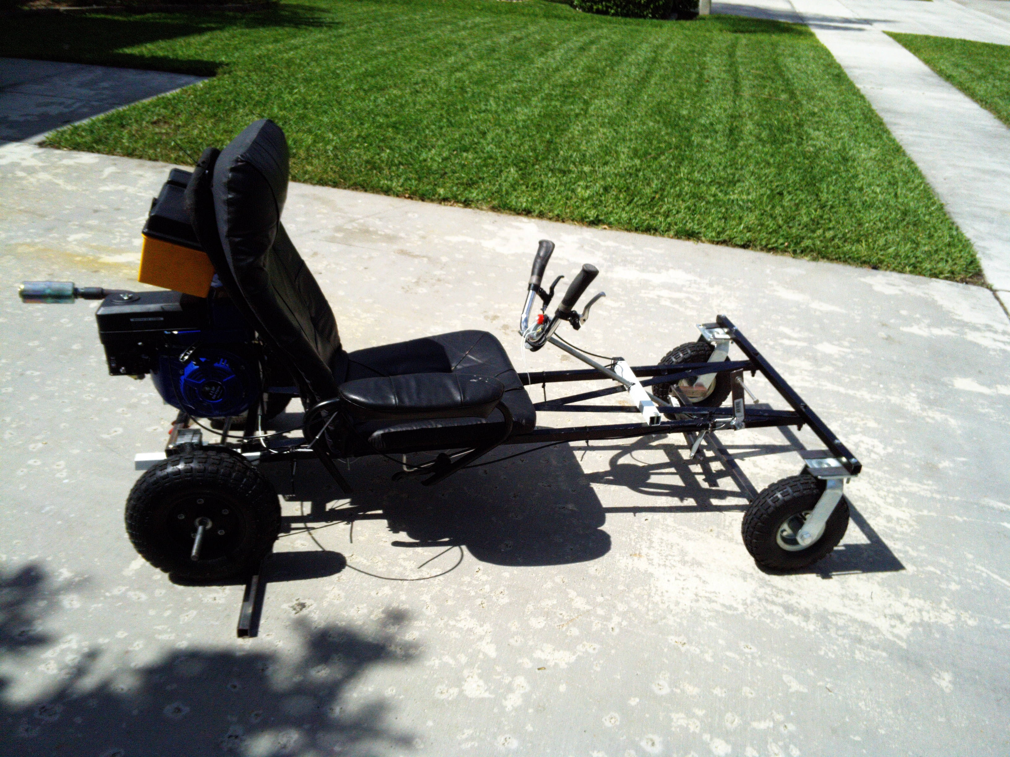 no weld go kart evolution from day one