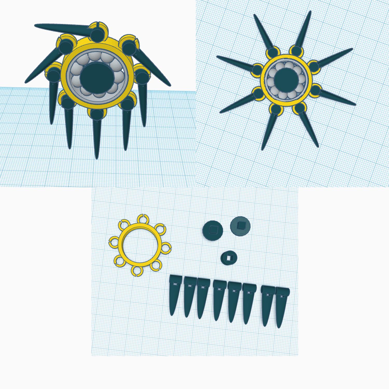 Flowed Fidget Spinner
