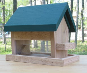 Build This Bird Feeder and Chill Out Bird Watching