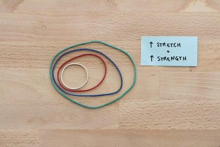 Selecting the Rubber Band