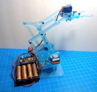 Robotic Arm From MeArm