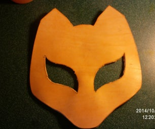 Simple Leather Molded Mask Without Tooling