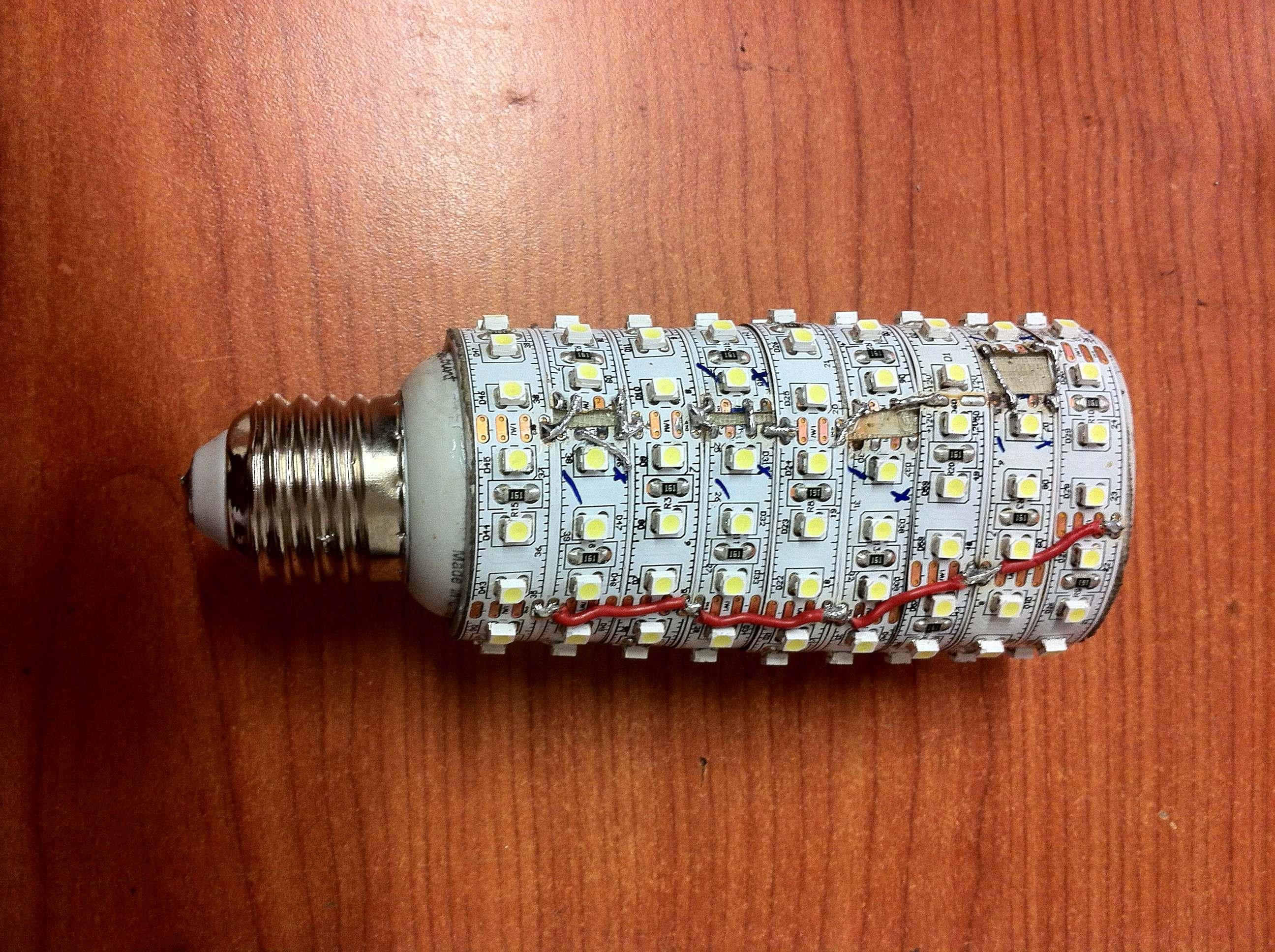 Home made LED bulb