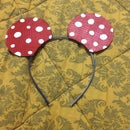 Diy Minnie Mouse Headband