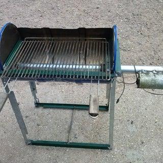 Reverse Flow Bbq Smoker Grill