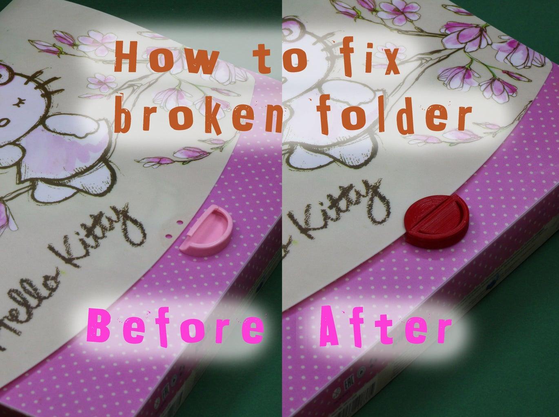 Fix Kids Document Folder
