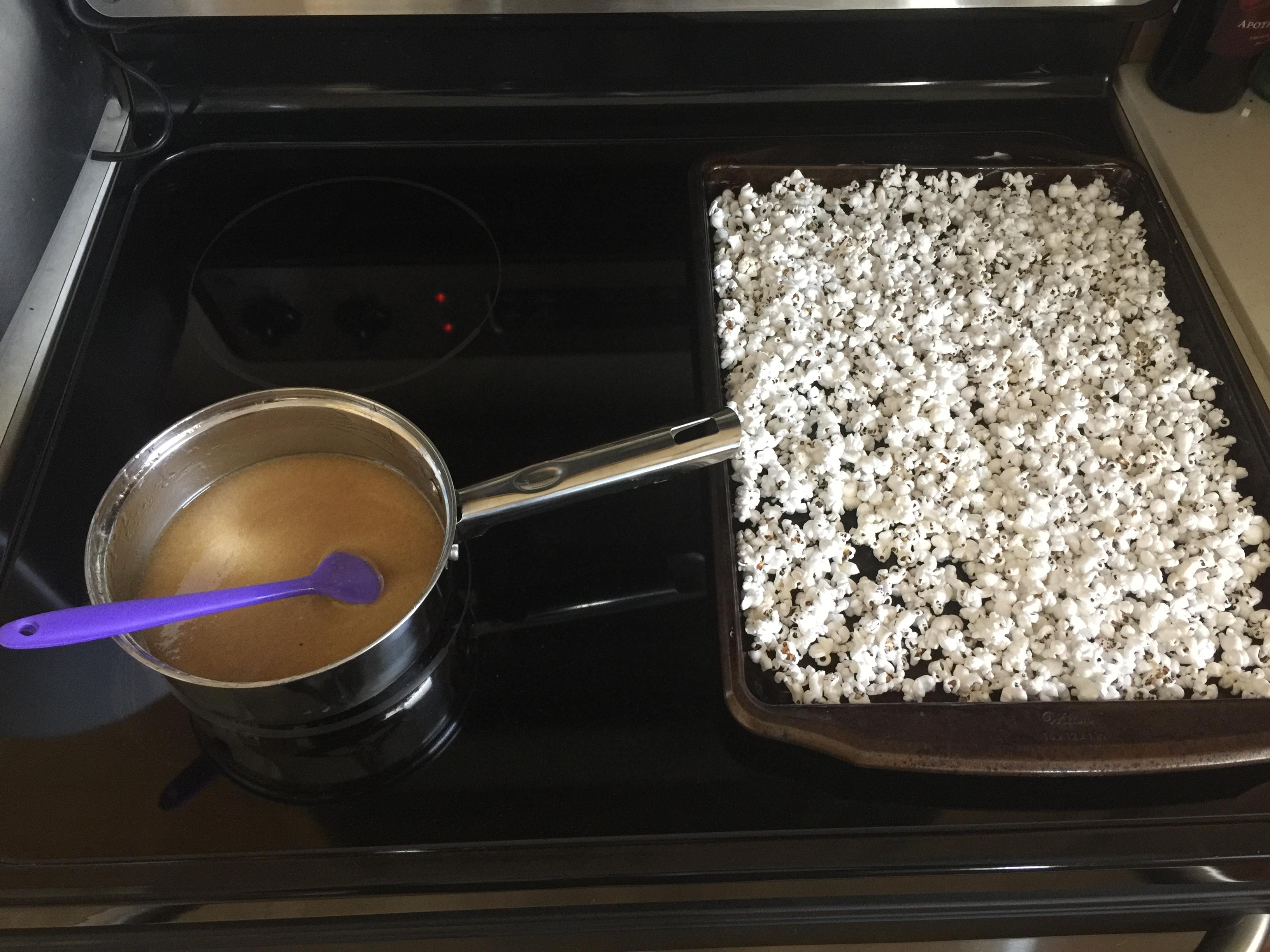 Cake Batter Popcorn