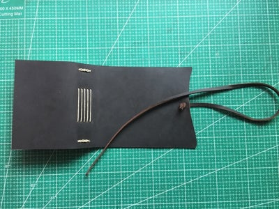 Make a Leather Strap for Closure