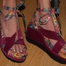 Flip Flop Wedge Healed Shoes