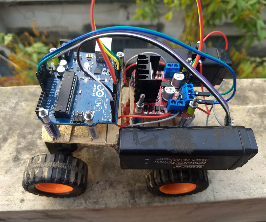 Bluetooth Controlled Car