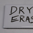 Magnetic Dry Erase Label