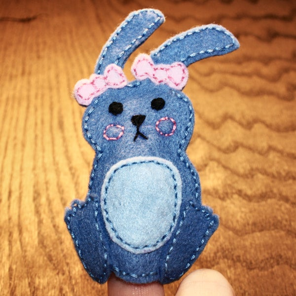 Easter Finger Puppets Step by Step DIY & FREE Pattern