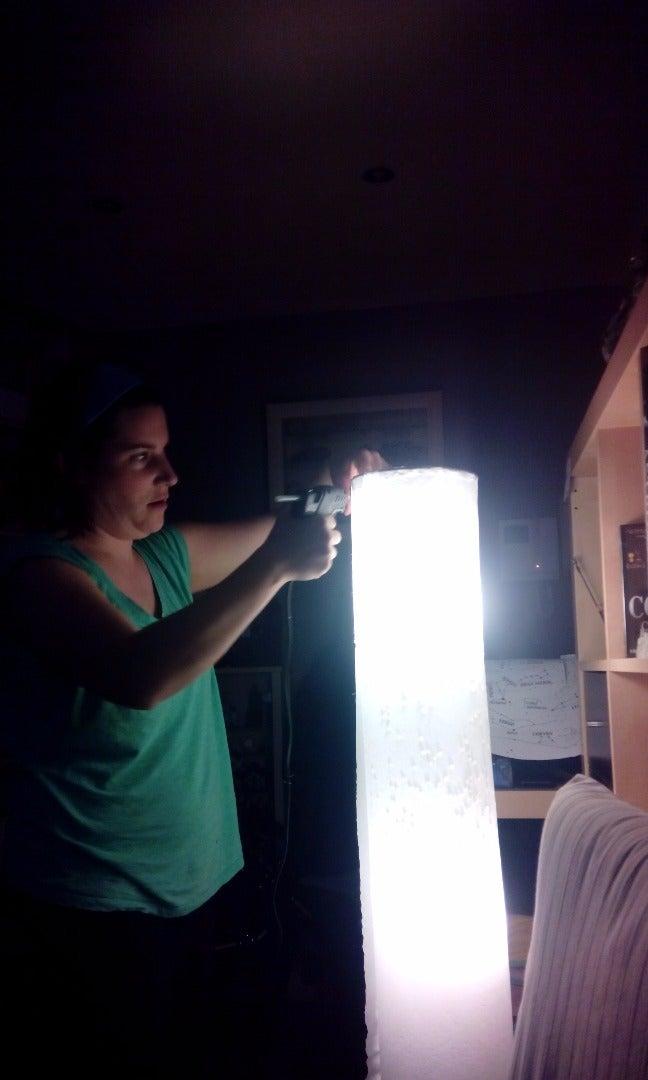 Montando La Lámpara