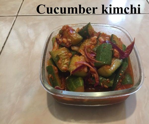 오이김치(ooo-eee or Cucumber) Kimchi