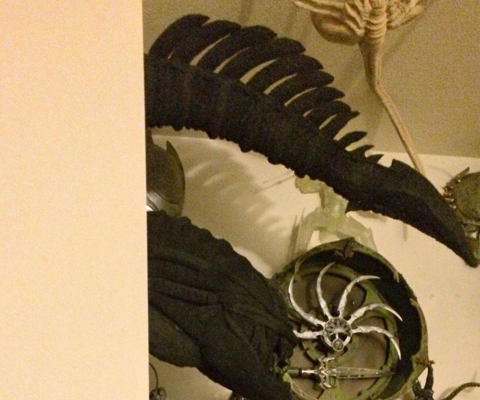 Xenomorph Alien Head foam sculpture