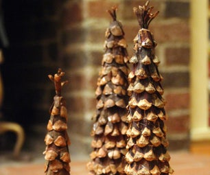 Pinecone Tree Decoration
