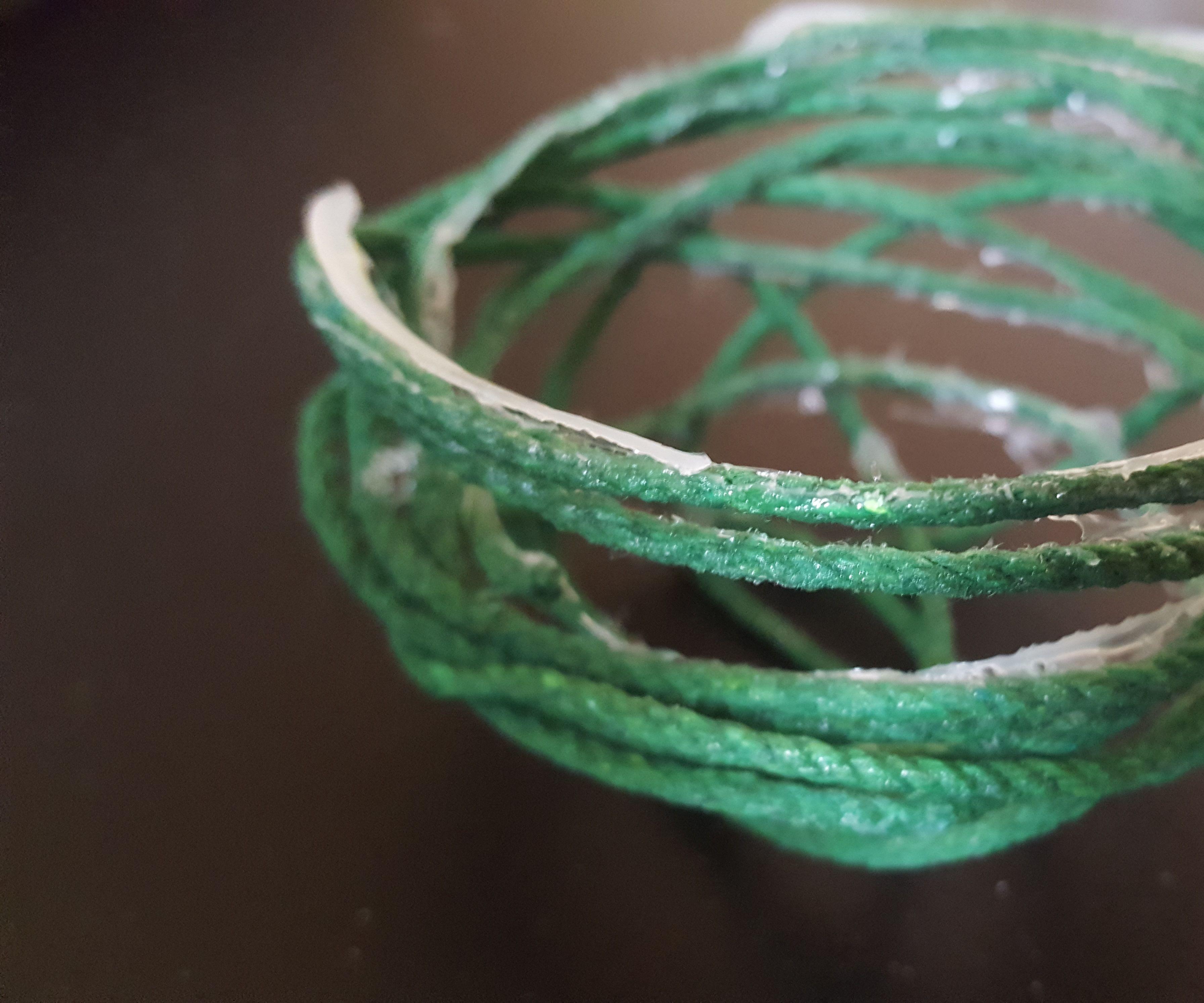 DIY Yarn Bowl