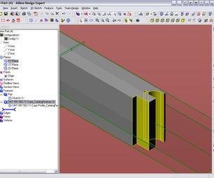 Extrude Cut Catalog Feature