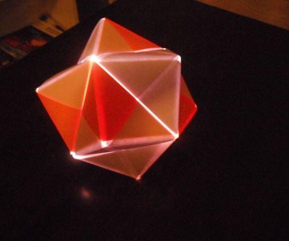 Amazing Light Up Origami Christmas Ornament