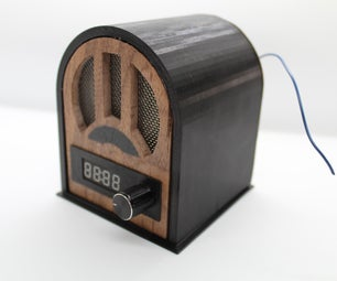 Retro Arduino Radio