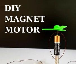 DIY: 2 Simple Magnet Motors You Can Make