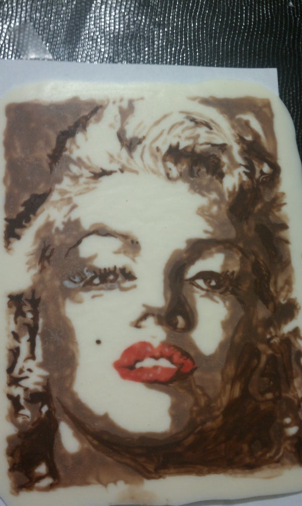 Painting With Chocolate.