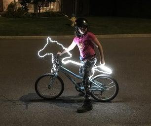 Illuminated Bicycle Horse