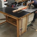 Simple Outfeed Table for the Table Saw