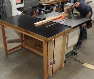 桌子锯的简单外送桌