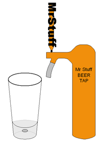 Pouring From a Tap (aka Draft or Draught)