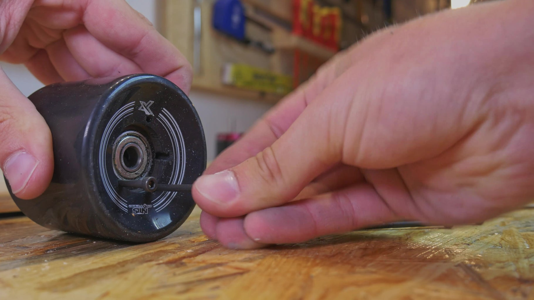 Attaching Pulley to the Wheel