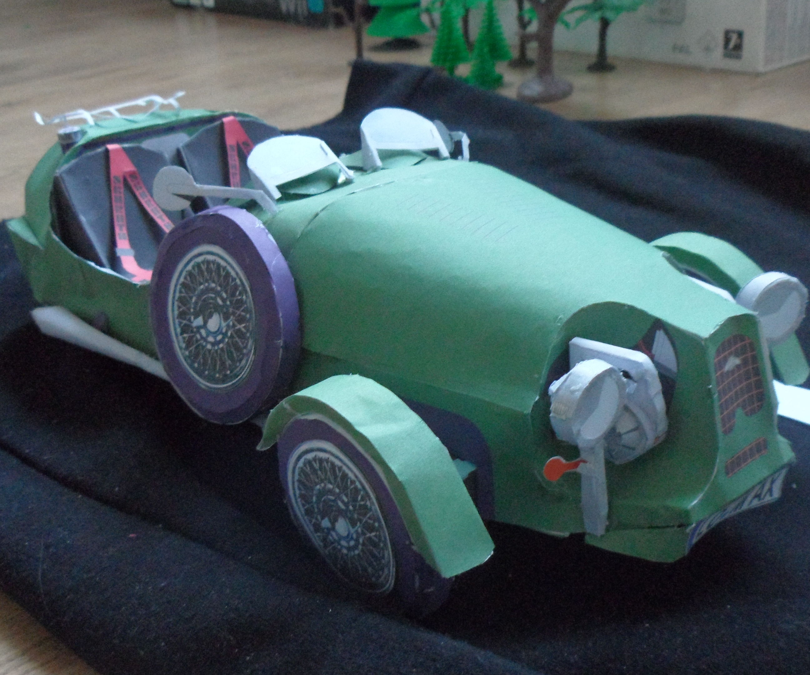 Tricyclecar Lomax Papercraft