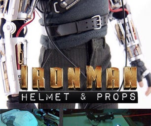 Ironman Helmet and Props