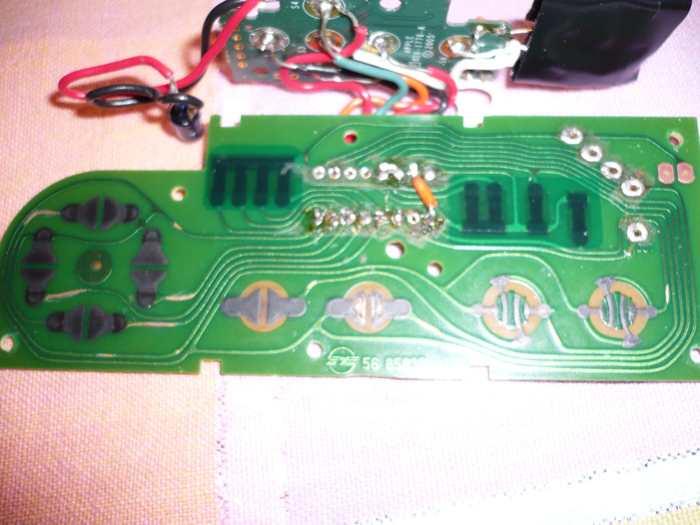 Soldering Wires on the NES Controller