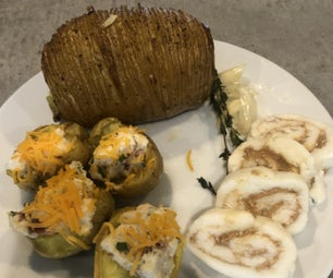 3道菜土豆餐