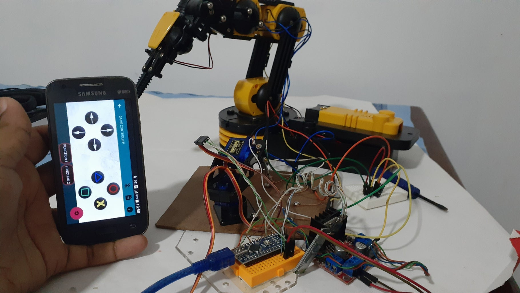 Code for Bluetooth Connection and Finalize the Project