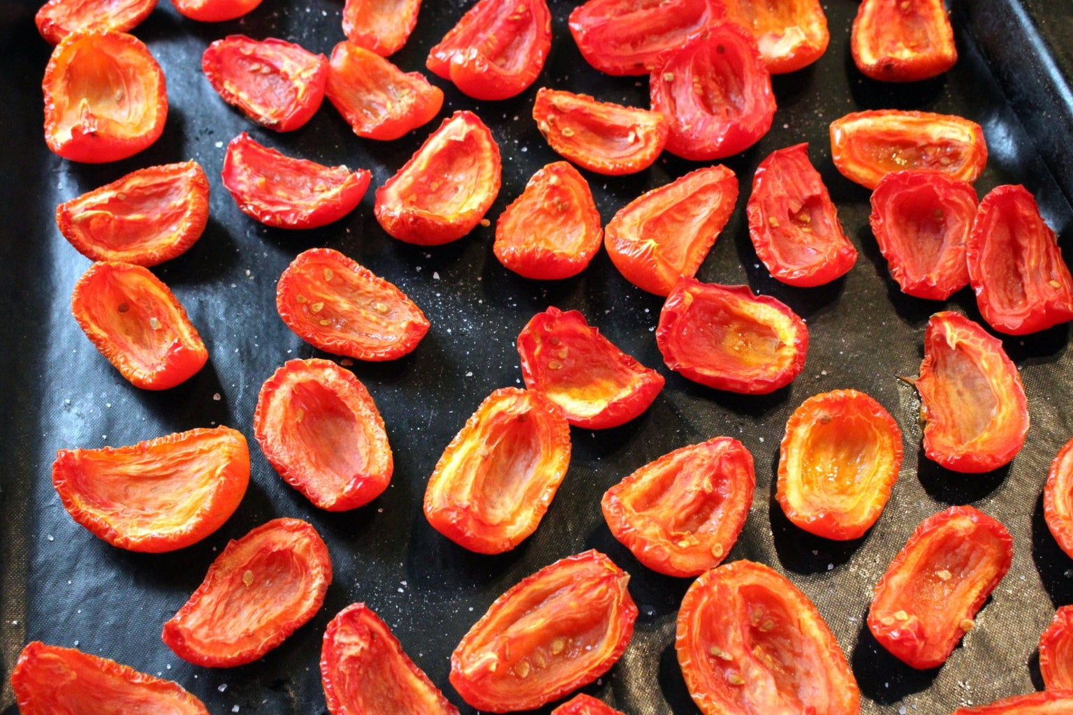 Drying the Tomatoes