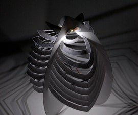 Papercraft LED Lantern