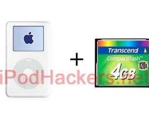 Convert Your 4th Gen IPod to Use Flash Memory